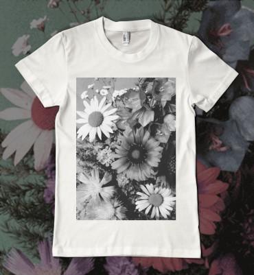 Floral T Shirt Womens Flower Power
