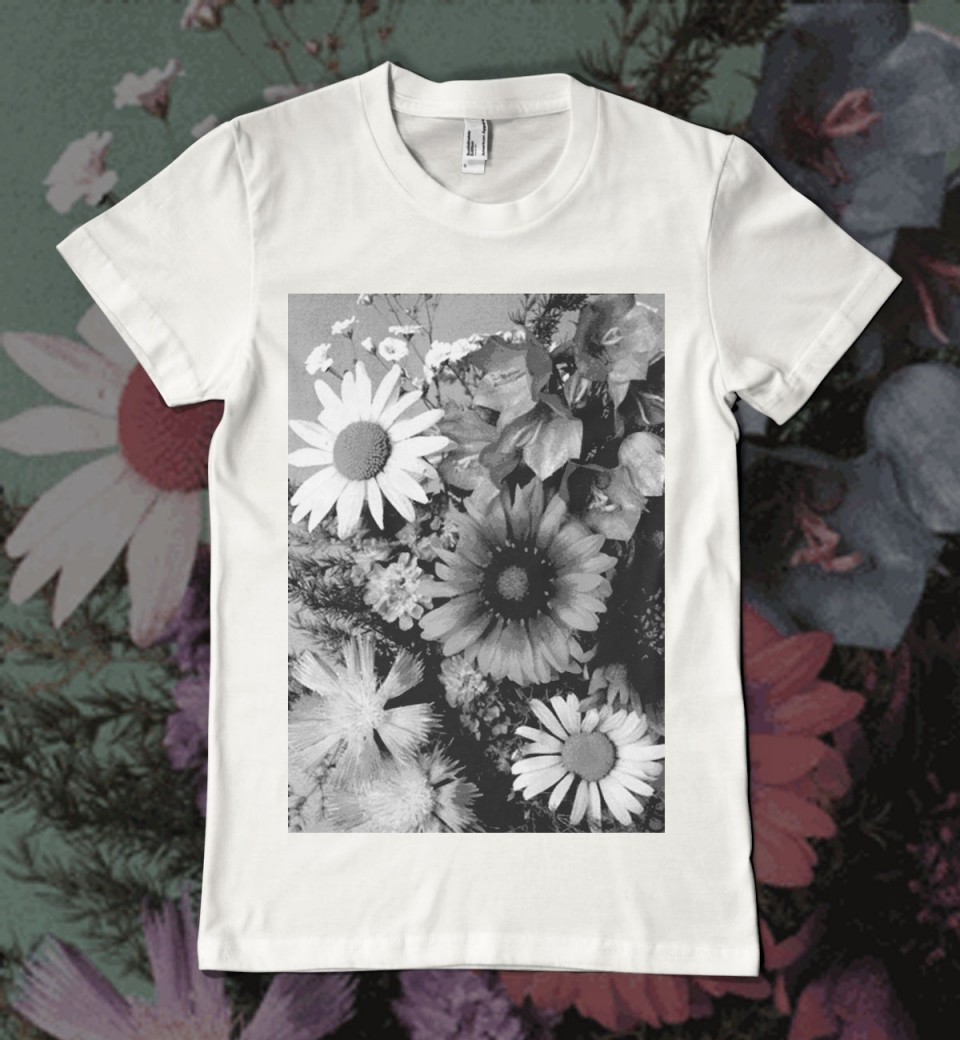Floral T Shirt Womens Flower Power