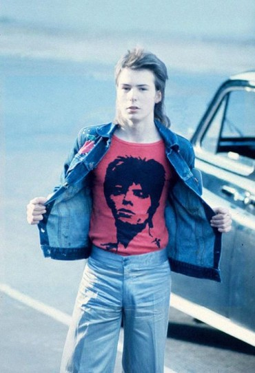 David Bowie T Shirt Worn By Sid Vicious