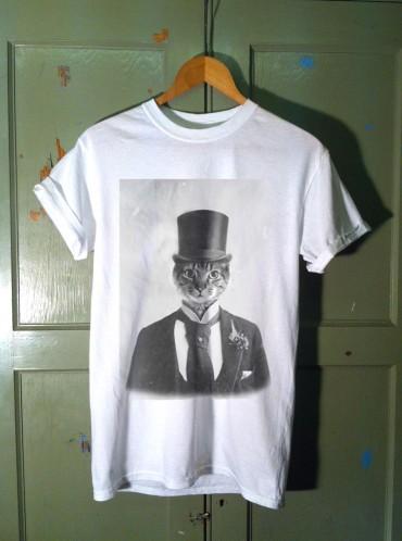 Cat T Shirt – Cat In A Hat T Shirt