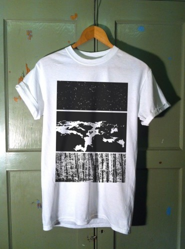 Black and White T Shirt Design