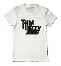 Thin Lizzy T Shirt - Women's - White